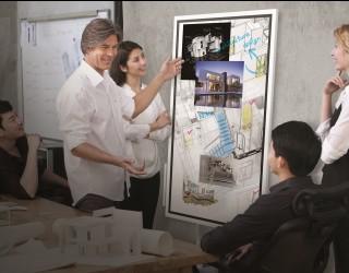 Работно място на бъдещето, или какво е дигитален флипчарт дисплей