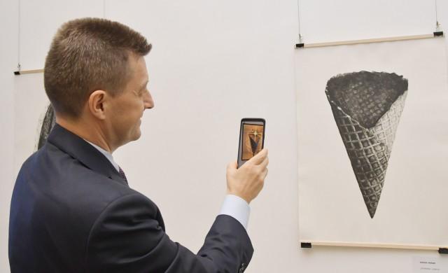 """Иновативната изложба """"Дигитално мастило"""" в ОББ Галерия"""