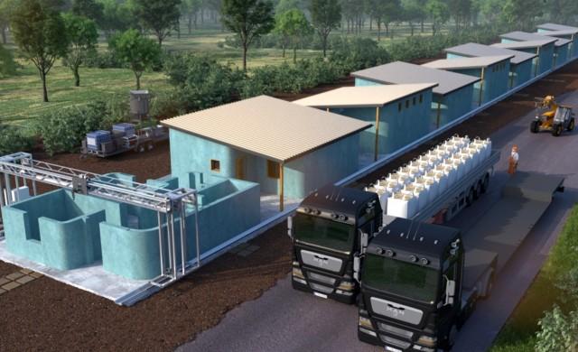В Латинска Америка ще се появи село, напечатано на 3D принтер