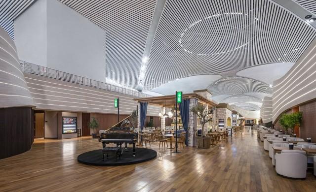 Вижте новите пътнически салони на летището в Истанбул (снимки)