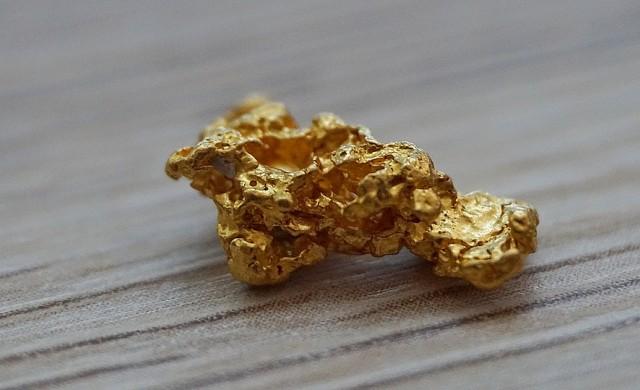 Мъж намери с металотърсач златна буца с тегло 1.4 кг