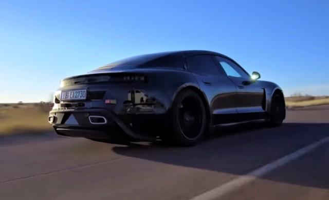 Електромобилът на Porsche се похвали със сериозни характеристики