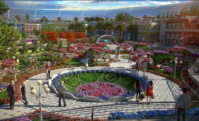 Първият мол в света, вдъхновен от природата