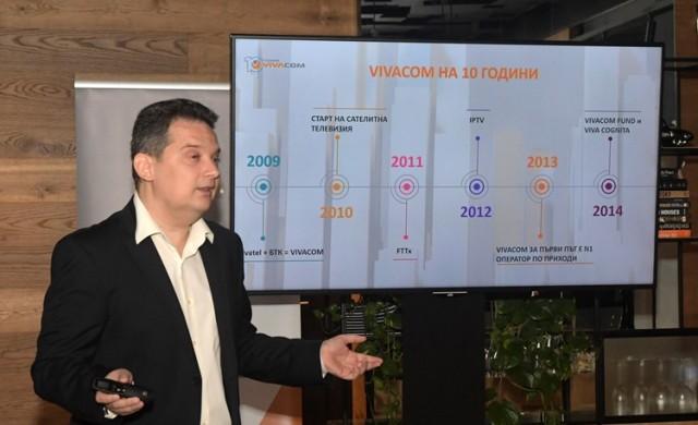 VIVACOM №1 по приходи за 2018 г. и за първо тримесечие на 2019 г.