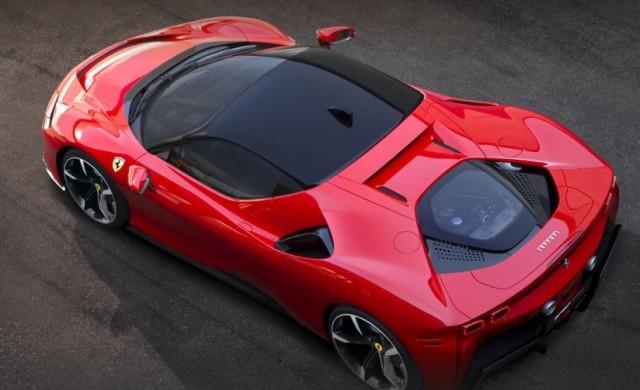 Ferrari представи хибрид с 1 000 конски сили