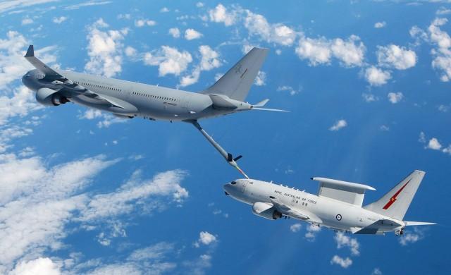 Airbus изпревари Boeing в автономното зареждане във въздуха