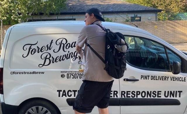 Пъб на колела доставя халби с бира до домовете