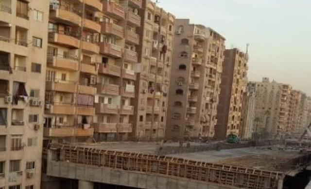Египет строи магистрала на 50 см от жилищни блокове (снимки)