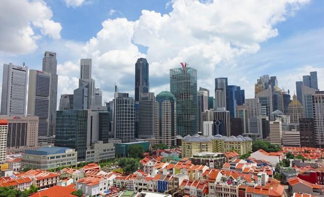 В Сингапур се появиха автоматични кабини за дезинфекция