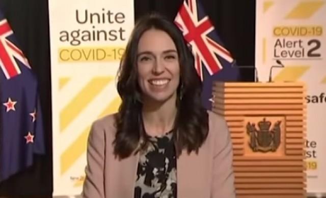 Земетресение не можа да изплаши новозеландския премиер (видео)