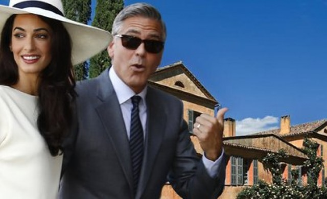 Джордж Клуни се сдоби с имение в Прованс