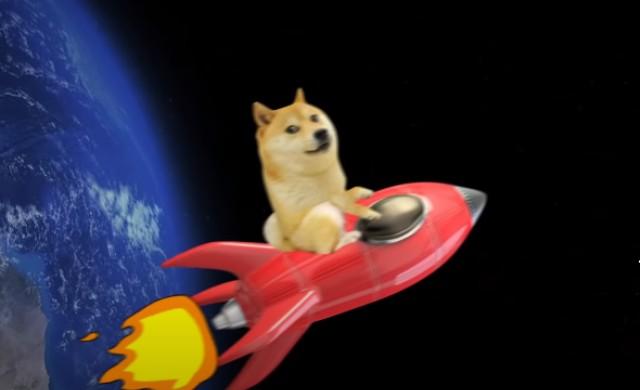 SpaceX ще финансира мисия до Луната с Dogecoin