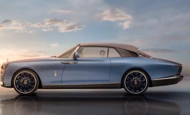 """Rolls-Royce представи """"най-амбициозния автомобил, създаван някога"""""""