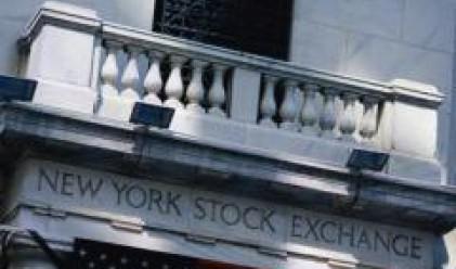 Опасения за икономиката свалиха цените на акциите на Уолстрийт