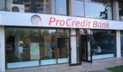 ПроКредит Банк с кредитен портфейл от 1 млрд. лв. към март