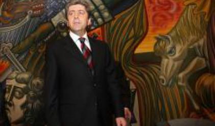 Президентът Георги Първанов пристигна в Атина за участие в регионална среща на върха