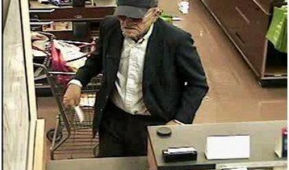 Дядо - банков крадец се измъкна за десети път