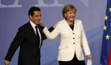 Меркел и Саркози предлагат икономическо правителство на ЕС