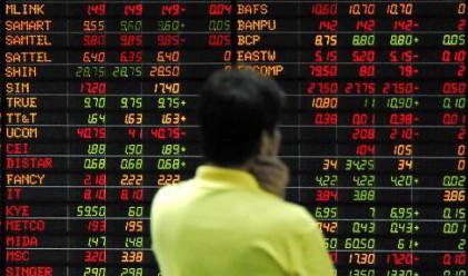 Азиатските индекси прекъснаха печелившата си серия