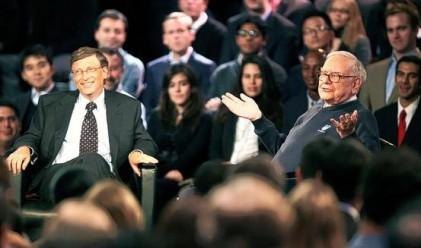 Бъфет и Гейтс: Богатите да дарят 50% от състоянието си