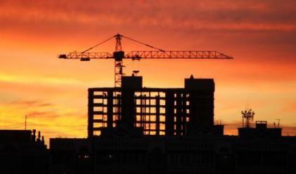 Строителството тотално замря