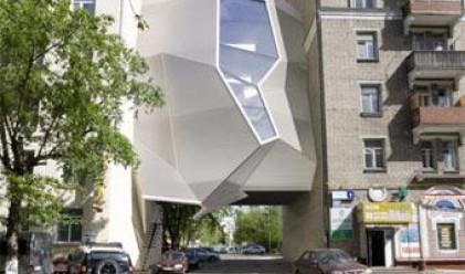 В Москва строят офис-паразит