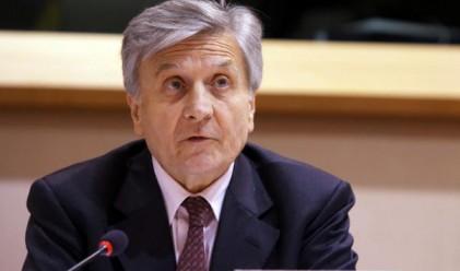 Еврото се срина след речта на Трише