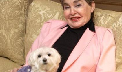 Кучето, което наследи 12 млн. долара, е починало