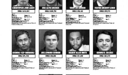 Най-издирваните престъпници в света
