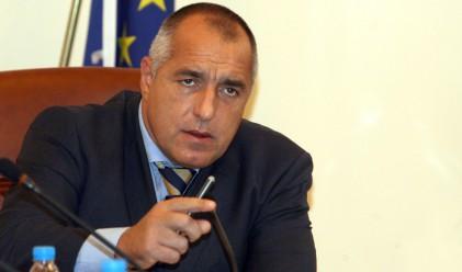 Борисов събрал над 2 хил. лентички от нови обекти