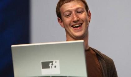 Facebook изпревари Microsoft във Великобритания