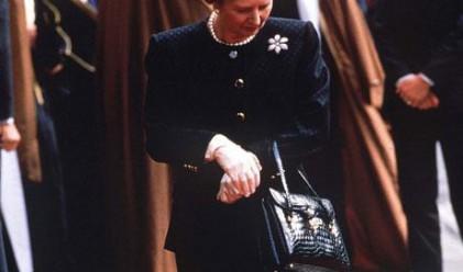 Продадоха чанта на Маргарет Тачър за 25 000 паунда