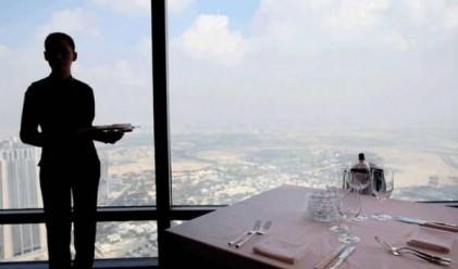 Да обядваш в най-високия ресторант в света