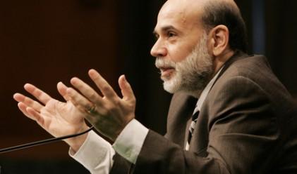 Бернанке: Рисковете за щатската икономика идват от Европа