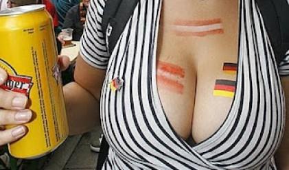 Най-секси фенките на Евро 2012