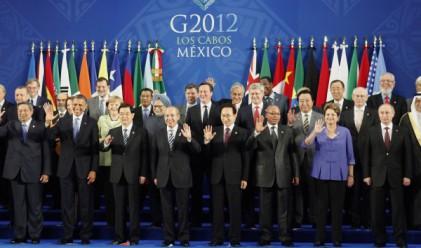 Г-20: Европа- най-големият риск за световната икономика