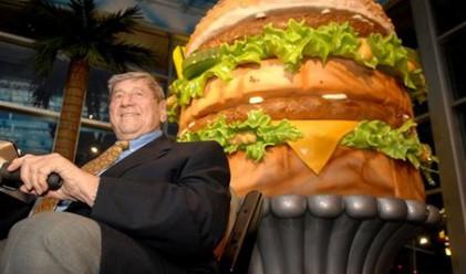 Защо McDonald`s на снимката са по-големи