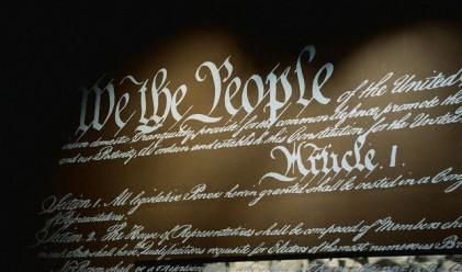 Продадоха Конституцията на Вашингтон за 9.8 млн. долара