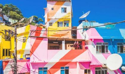 Най-цветните квартали в света