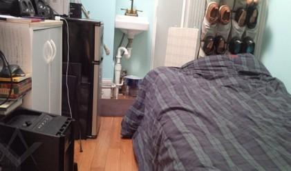 Най-депресиращият апартамент в Ню Йорк е от 9 кв. м