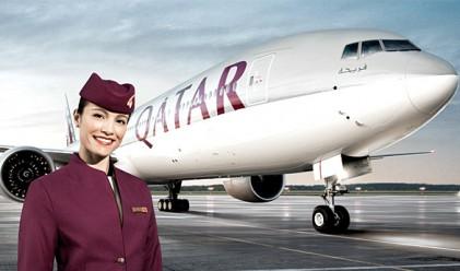 Qatar Airways е най-добрата авиолиния за 2015 г.