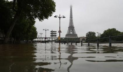 Щети за 1 млрд. евро от лошото време във Франция