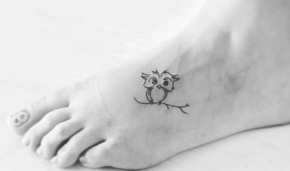 20 изключително дискретни и красиви татуировки