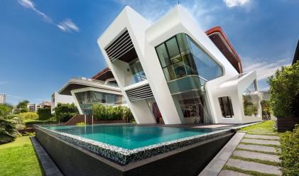 Футуристична вила в Сингапур