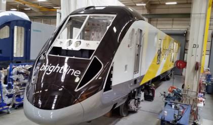 Siemens разработва хибриден влак, развиващ 200 км/ч