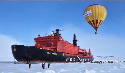 На круиз на борда на най-големия ледоразбивач в света (снимки)