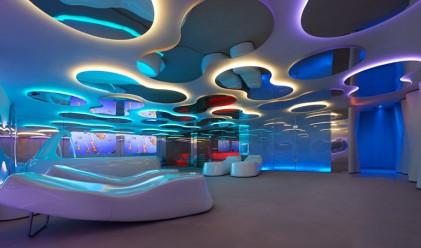 Дизайнът на този спа салон ще ви пренесе на друга планета
