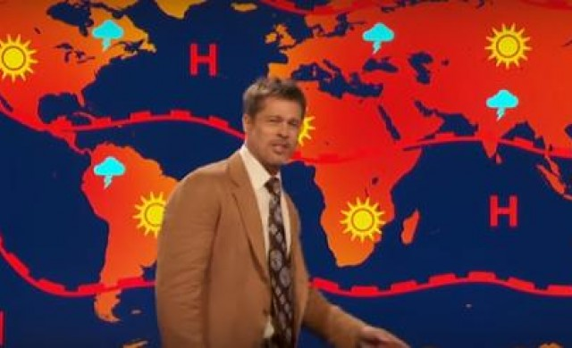 Защо Брад Пит влезе в ролята на депресиращ метеоролог?