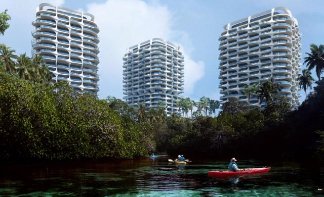 Заха Хадид архитекти планират нов проект до Канкун