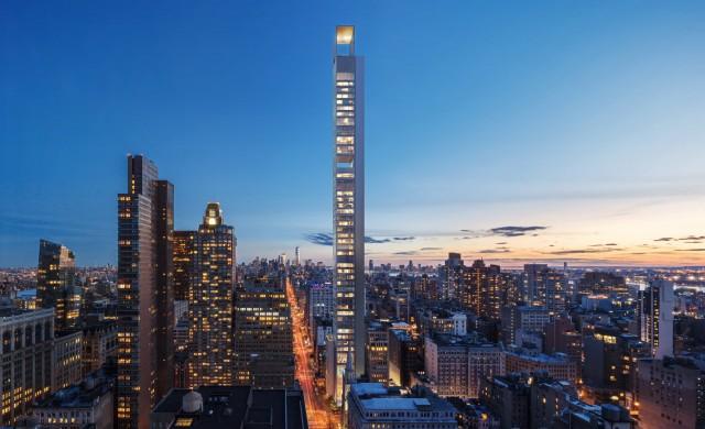Супертънък небостъргач в Ню Йорк променя визията на града